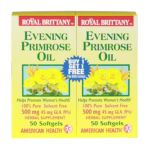 American health - Royal Brittany Evening Primrose Oil 50+50 Twin Pack Special,1 count 0076630036313  / UPC 076630036313