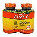 American health -  Ester C With Citrus Bioflavonoids Bogo Size, 45 capsule,90902 count 0076630169790