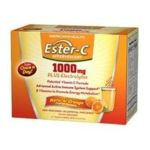 American health -  Ester-c Effervescent 21 Packets In A Box-natural Orange Flavor 21 Packets,21 count 0076630367486