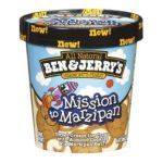 Ben & Jerry's - Mission To Marzipan Ice Cream 0076840043149  / UPC 076840043149