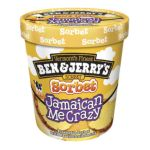 Ben & Jerry's - Jamaican Me Crazy Sorbet 1pt 0076840100699  / UPC 076840100699