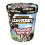 Ben & Jerry's - Ice Cream One Cheesecake Brownie 0076840101283  / UPC 076840101283