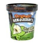 Ben & Jerry's - Organic Vanilla Ice Cream 0076840101634  / UPC 076840101634