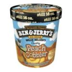 Ben & Jerry's - Ice Cream Willie Nelson's Country Peach Cobbler 0076840101825  / UPC 076840101825