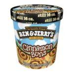 Ben & Jerry's - Ice Cream Cinnamon Buns 0076840102051  / UPC 076840102051