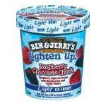 Ben & Jerry's - Light Ice Cream Raspberry Chocolate Chunk 0076840102723  / UPC 076840102723