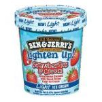 Ben & Jerry's - Light Ice Cream Strawberries & Cream 0076840102730  / UPC 076840102730