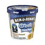 Ben & Jerry's - Frozen Yogurt-greek Banana Peanut Butter 0076840220267  / UPC 076840220267
