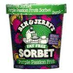 Ben & Jerry's - Fat Free Sorbet 0076840500024  / UPC 076840500024