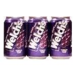 Welch's -  Sparkling Soda Grape 0076860000535