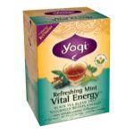 Yogi Tea -  Refreshing Mint Revitalize Tea 16 tea bags 0076950203303