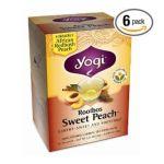 Yogi Tea -  Rooibos Sweet Peach Caffeine Free 16 Tea Bags 16 tea bags 0076950415287