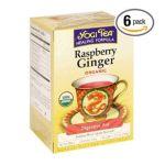 Yogi Tea -  Raspberry Ginger Tea Bags 0076950450240