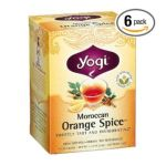 Yogi Tea -  Moroccan Orange Spice Caffeine Free 16 Tea Bags 0076950450554