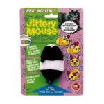 Ethical Pet -  Plush Jittery Mouse Cat Toy 1 toy 0077234021002