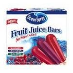Ocean Spray - Fruit Juice Bars 0077567027900  / UPC 077567027900