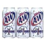 A&W -  A&w Cream Soda Diet 0078000002690