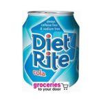 Diet Rite -  Diet Rite Pure Zero Cola Can 0078000005776