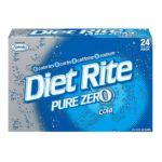 Diet Rite -  Pure Zero Cola Soda 0078000063103