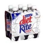 Diet Rite -  Cola 6 ct 0078000063424