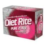 Diet Rite -  Red Raspberry Soda Cool Pack 0078000068061