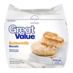 Great Value -  Buttermilk Frozen Biscuits 0078742000756