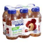 Great Value -  100% Juice 0078742015224