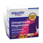 Equate -  Omeprazole Magnesium Capsules 20.6 mg lb lb lb lb,28 count 0078742067803