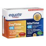 Equate -  Non-drowsy Daytime Nitetime Cold & Flu Multi-symptom Relief 0078742072173