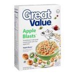 Great Value -  Apple Blasts Cereal 0078742075259