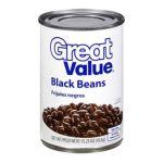 Great Value -  Black Beans 0078742075761