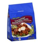 Great Value -  Chicken Breast Fritters With Rib Meat Sweet Barbeque Seasoned Breast Chunks 0078742083575