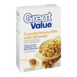 Great Value -  Crunchy Honey Oats With Almonds Cereal 0078742085838