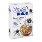 Great Value -  Berry Crunch Cereal 0078742085890