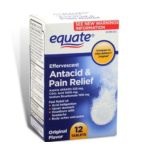 Equate -  Effervescent Original Flavor Antacid And Pain Relief Tablets 0078742091150
