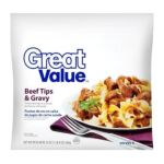 Great Value -  Beef Tips & Gravy Meal 0078742112046