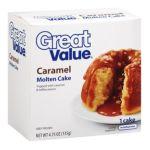 Great Value -  Caramel Molten Cake 0078742117041