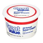 Great Value -  All Natural Sour Cream 0078742119083