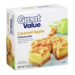 Great Value -  Caramel Apple Cheesecake 0078742119274