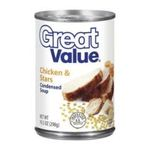 Great Value -  Chicken & Stars Condensed Soup 0078742315577