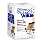 Great Value -  8 Frosted Chocolate Fudge Toaster Pastries 0078742318240