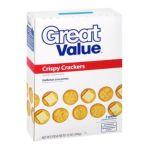 Great Value -  Crispy Crackers 0078742352596