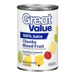Great Value -  Chunky Mixed Fruit 0078742370613