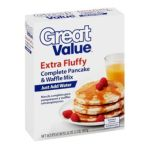 Great Value -  Complete Pancake & Waffle Extra Fluffy Mix 0078742370811