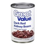 Great Value -  Dark Red Kidney Beans 0078742370859