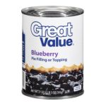 Great Value -  Blueberry Pie Filling Or Topping 0078742371115