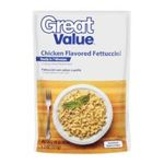 Great Value -  Chicken Flavored Fettuccini Mix 0078742425382