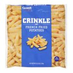 Great Value -  Crinkle Cut French Fried Potatoes 0078742430270