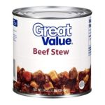 Great Value -  Beef Stew 0078742431116