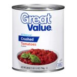 Great Value -  All Natural Crushed Tomatoes 0078742434018